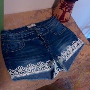 Lei high rise shorts